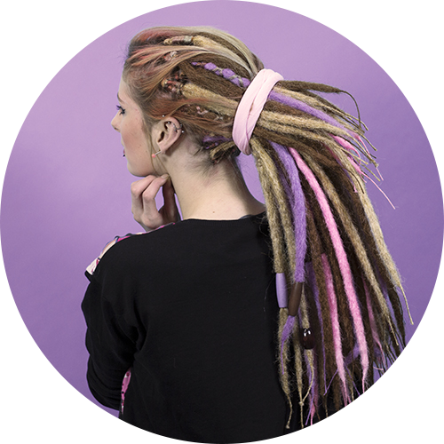 Real Appearing Synthetic Dreadlocks